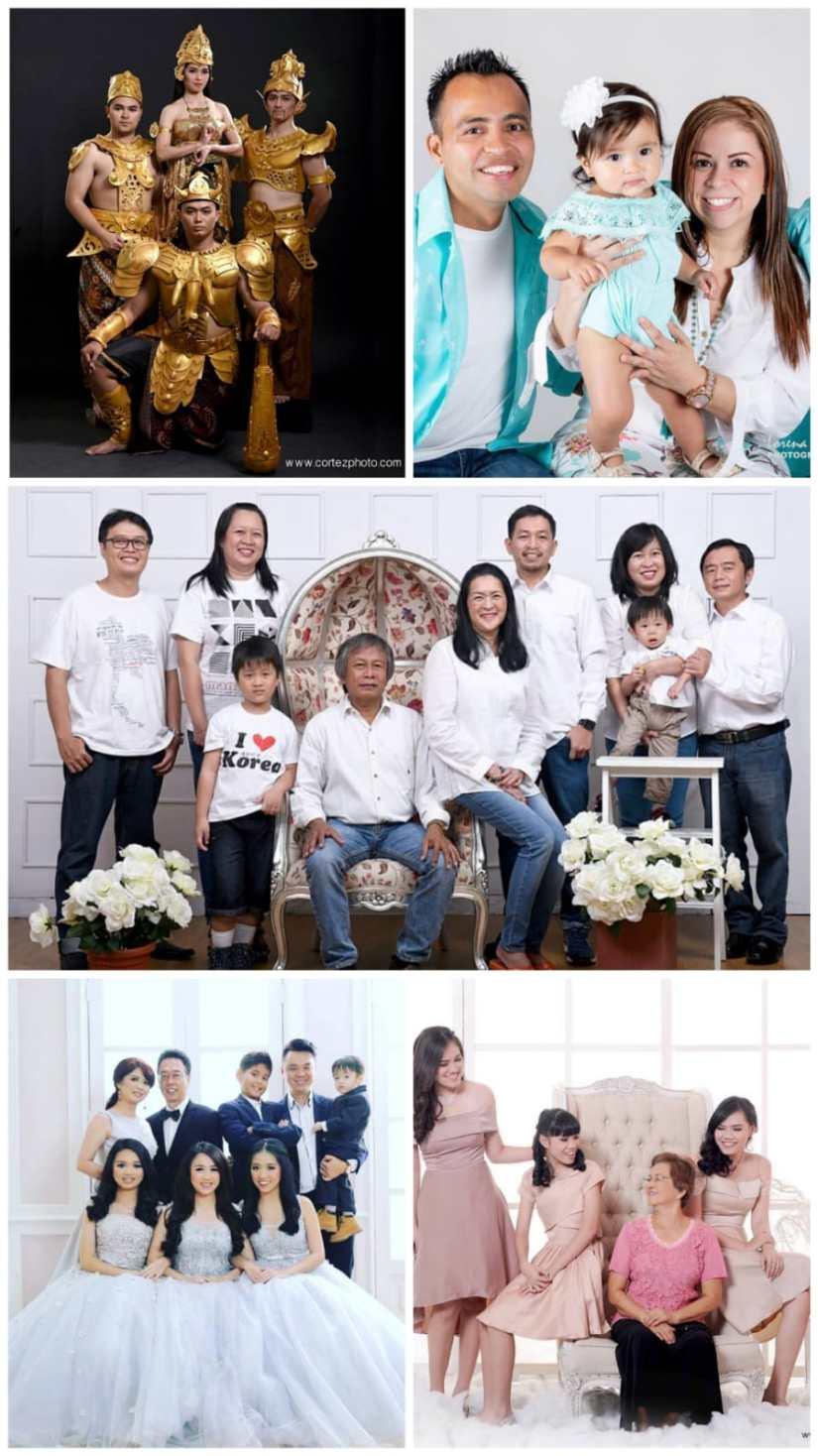 Family Photo shoot Ideas in Studio