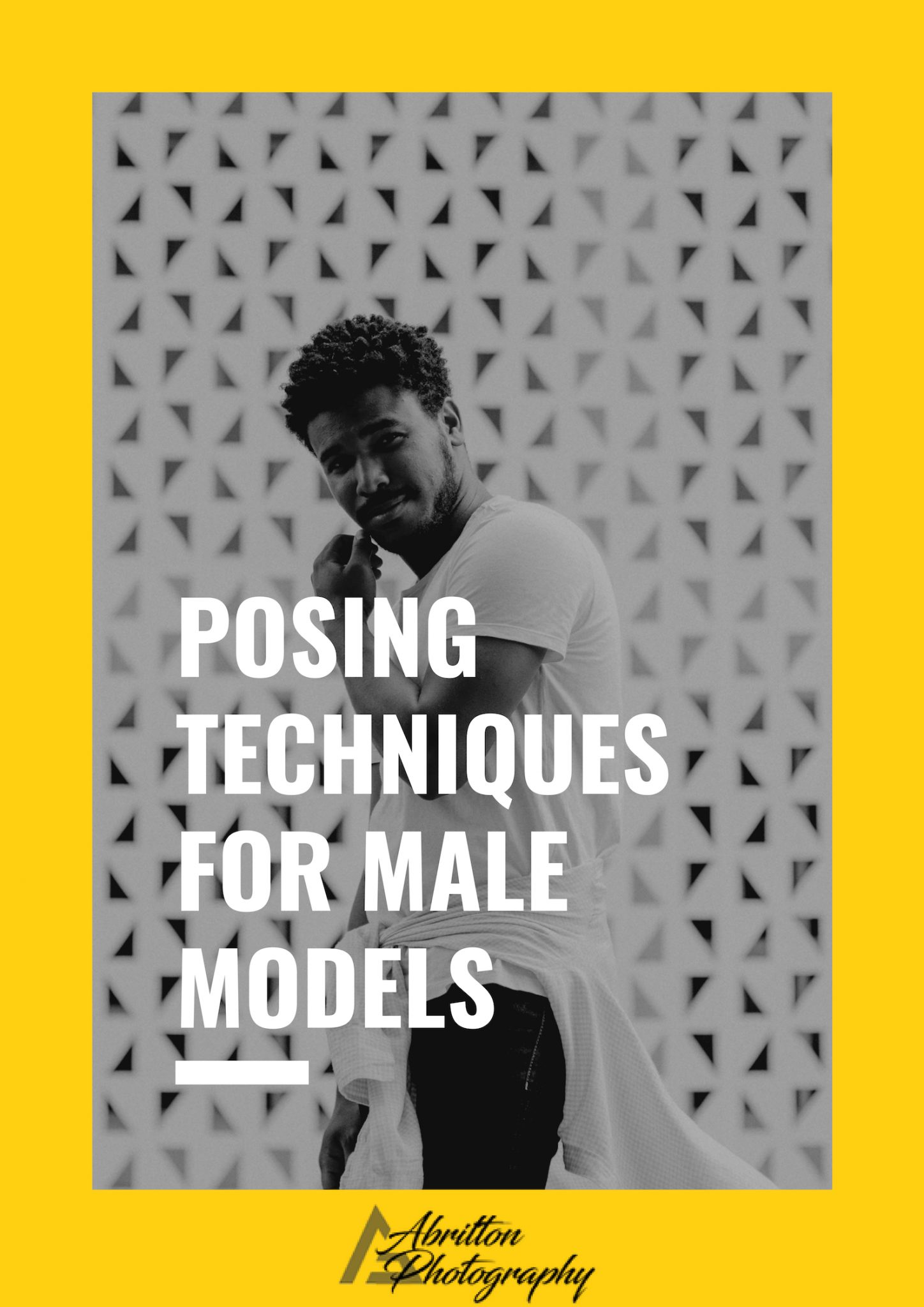 Posing Techniques for Male Models