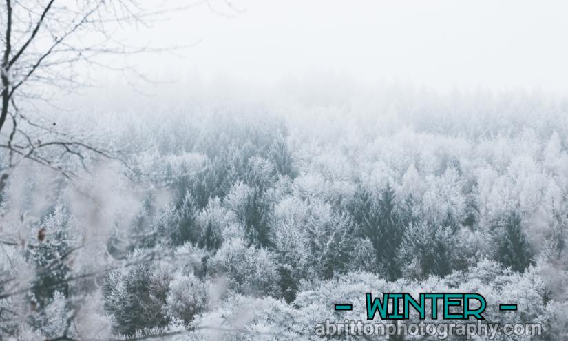 Winter landscape photography ideas