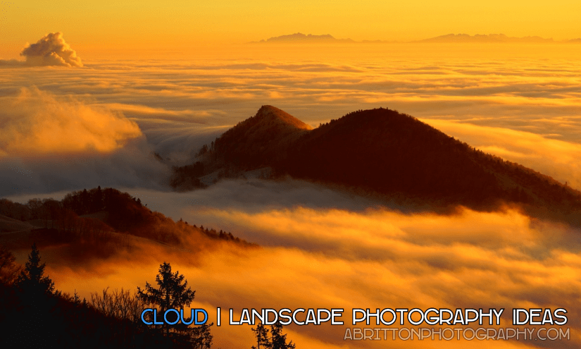 cloud landscape photography ideas