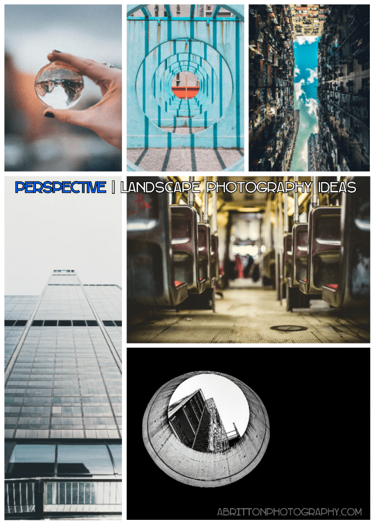 perspective landscape photography ideas