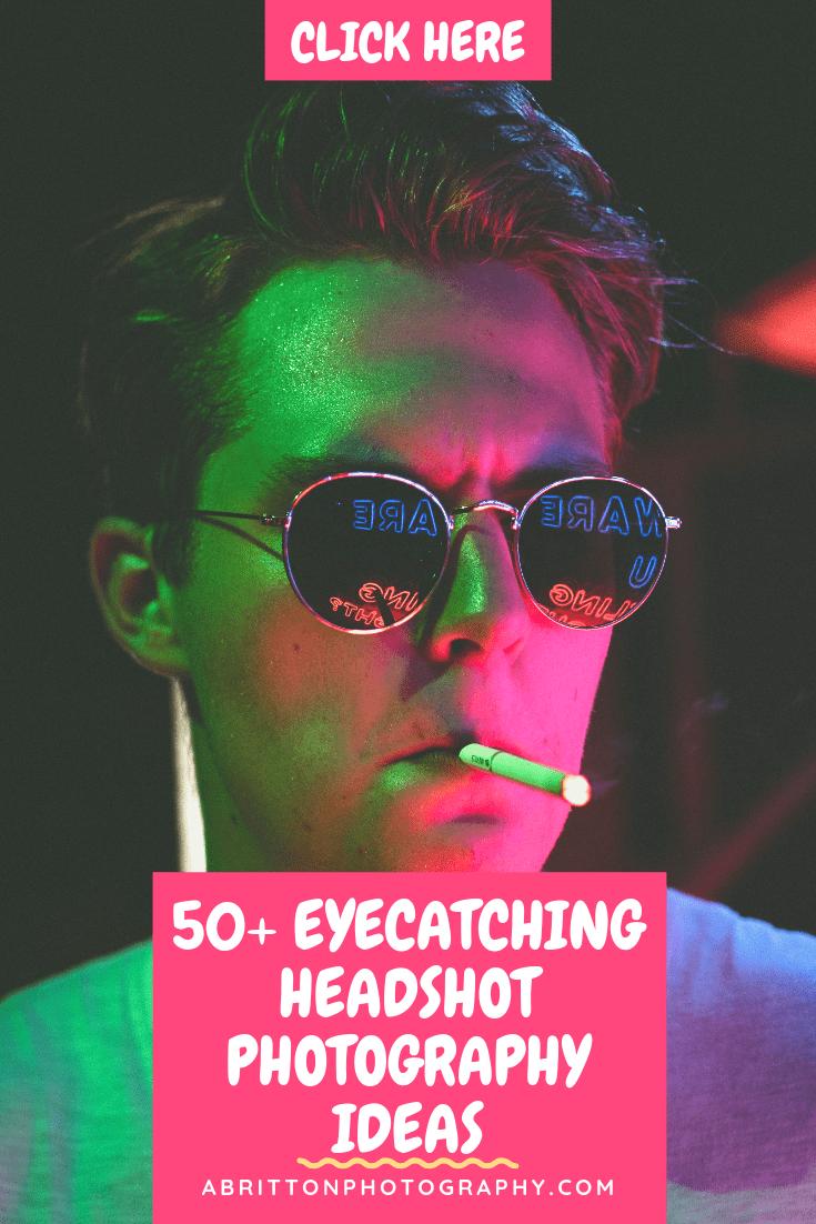 headshot photography ideas and tips
