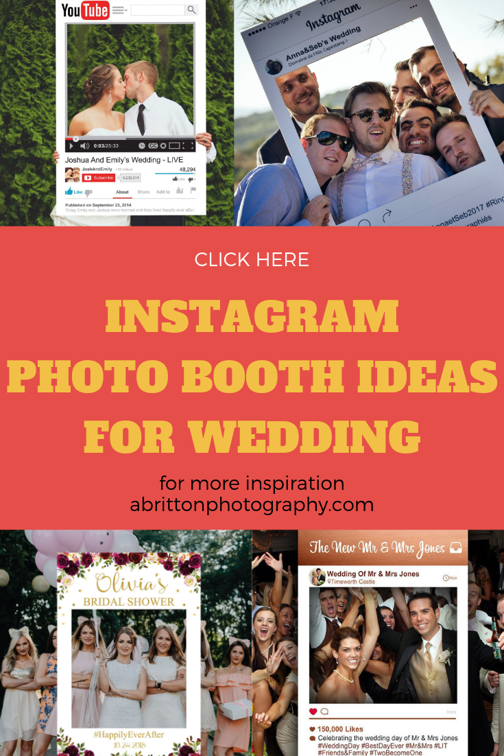 photo booth ideas for wedding