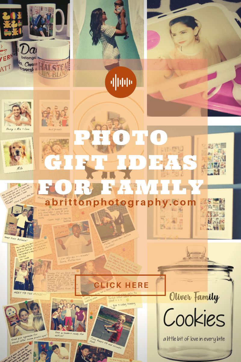 photo gift ideas for family