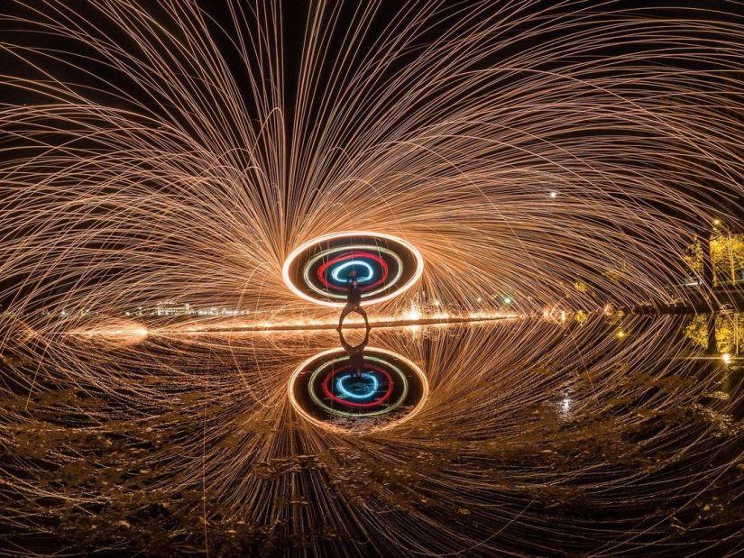 amazing steel wool photography ideas