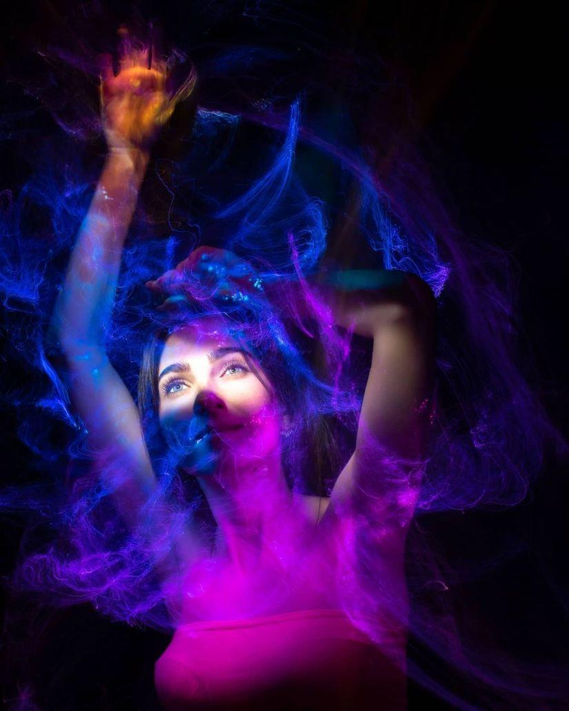 Light Painting Photography Portraits Photo Ideas