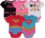 newborn dc superhero costume props