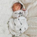 newborn props swaddle blanket ideas