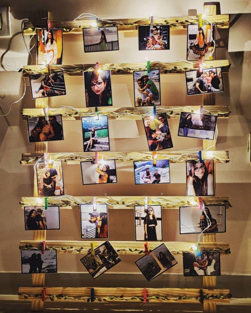 photo display ideas on wood