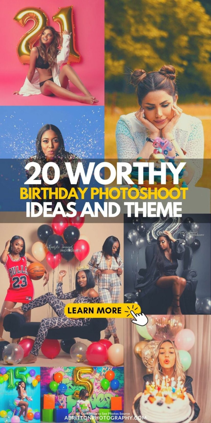 20 The Best Worthy How to Pose for Birthday Picture Ideas