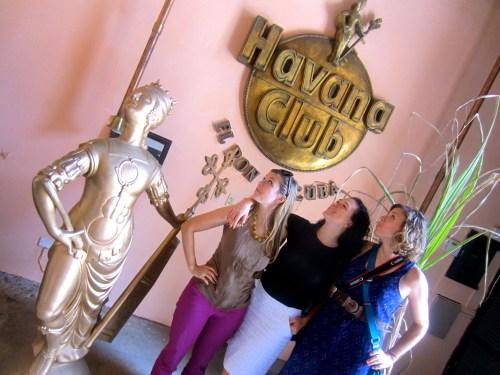 Visiting the Havana Club Rum museum