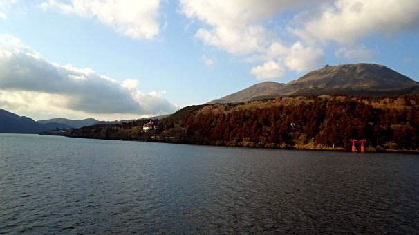 Hakone Japan Mt Fuji Lake Ashi