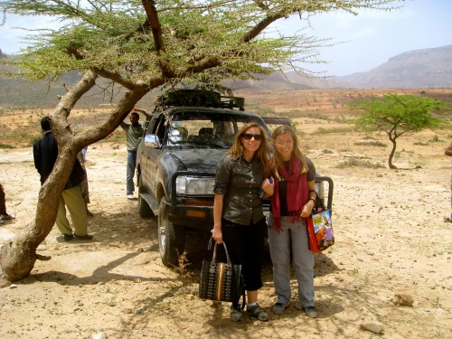 Photo from one of my most incredible adventures in Ethiopia with my dear friend Allison Shigo, Founder of Healing Hands of Joy