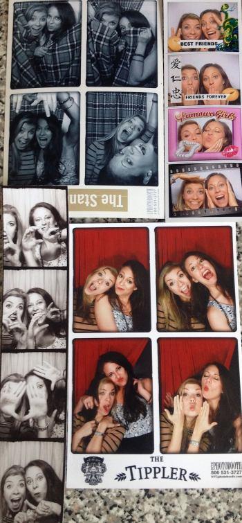 Photobooth bar crawl