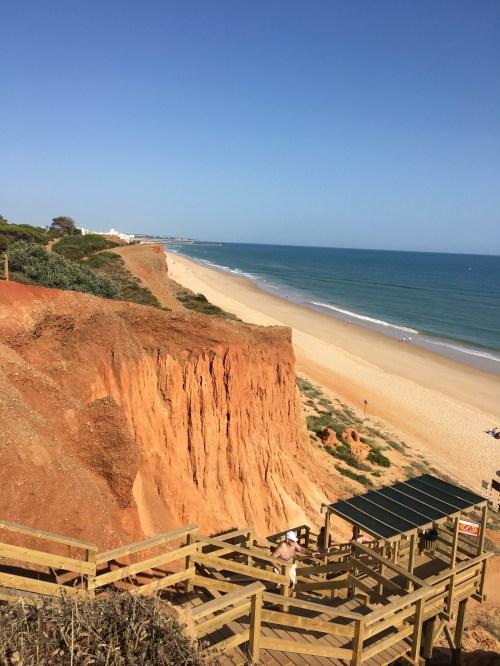 Portugal Road Trip beach cliffs