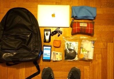 俺のLIFE PACKING 06。1泊2日は手ぶら、1週間は10Lのバックパックで旅をする