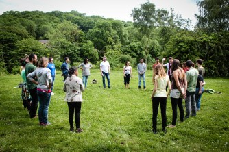 Think Like Nature - Emotional Intelligence with Forest School - training course - England - UK - Ironbridge - Coalport - Abroadship.org