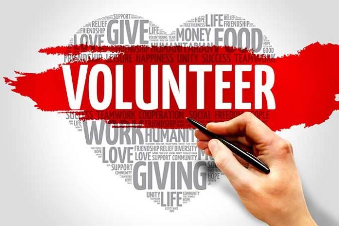 being a volunteer,volunteer opportunities