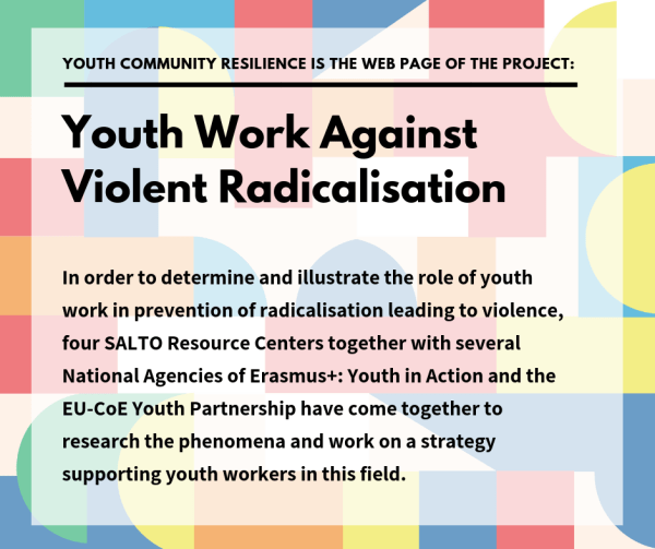 Youth work against Violent Radicalisation: competencies developement training - training course - TBD, Italy - Building young people's resilience against violent radicalisation
