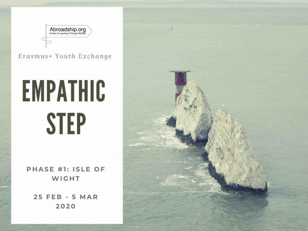Empahic Step 1 - swimming in Isle of Wight - United Kingdom - Erasmus plus - youth exchange - Abroadship.org