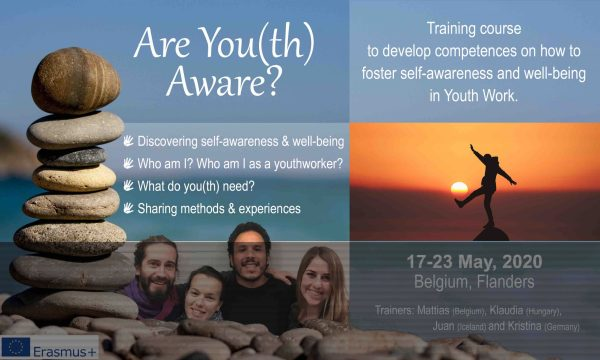 Training Course - Are You(th) Aware? - Belgium - FL - Erasmus Plus - Abroadship.org