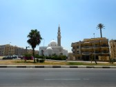 The mosque across the street. I look foward to the call to prayer every morning.