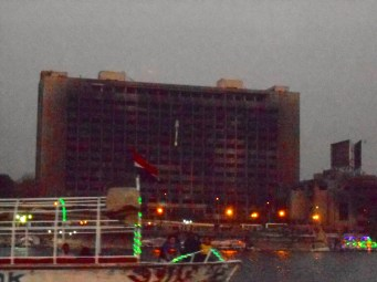 This building was burned during the revolution last year to get rid of any and all documents.