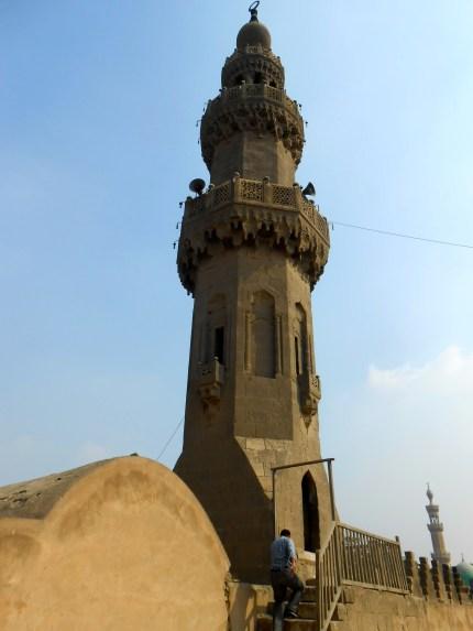 We got to climb this minaret. The stairs