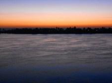 Dawn on the Nile.