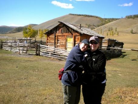 Mom and I on a horseback riding adventure.