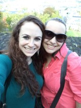 Hannah and I in Namur