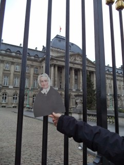 Agnes at the Belgian Royal Palace