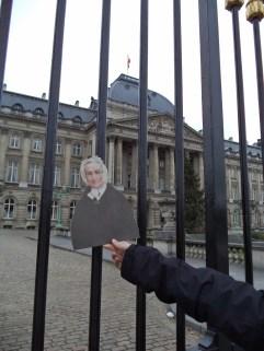 Agnes at the Belgian Royal Palace