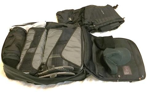 Packing cubes - the minimalist travelers best friend. Keeps things organized and makes efficient use of space. A perfect addition to the GORUCK GR3