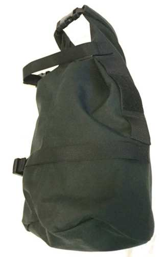 The GR3 Compression Tough Bag adds 18 liters of packing capacity and stows away when not in use