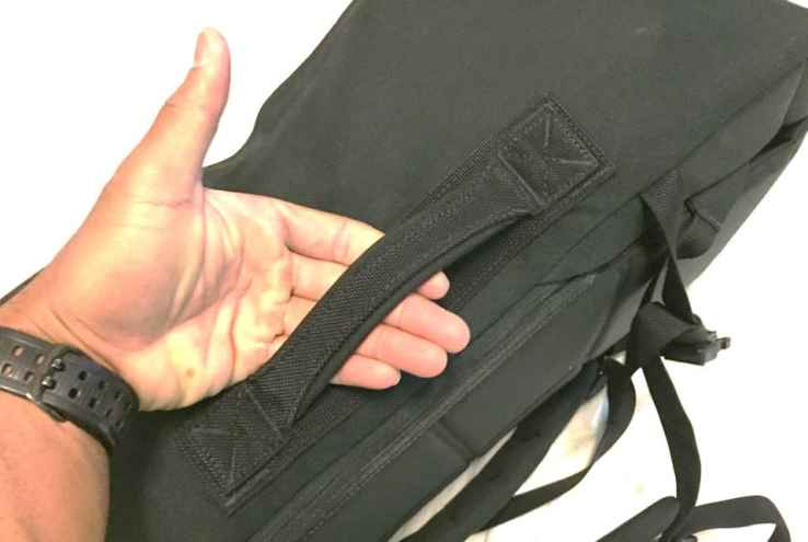 GORUCK GR3 padded side handle tested to 400lb+ haul strength