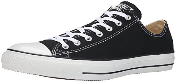 Chuck Taylor's All Stars are classic, but not durable enough to stand up to hiking and heavy adventure, and lack traction. Though they look good, durability and performance are a weakness