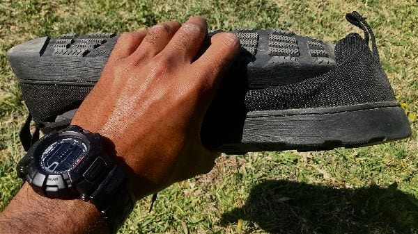The Altama Maritime Assault Shoe - lightweight and easily packed