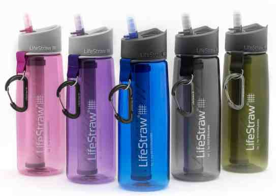 The Lifestraw Go is excellent for North American backcountry, but insufficient alone for international travel and adventure