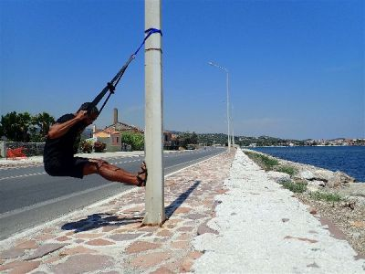 Having the Monkii Bars 2 makes Pull Ups possible anywhere, from a hotel room to a lightpole
