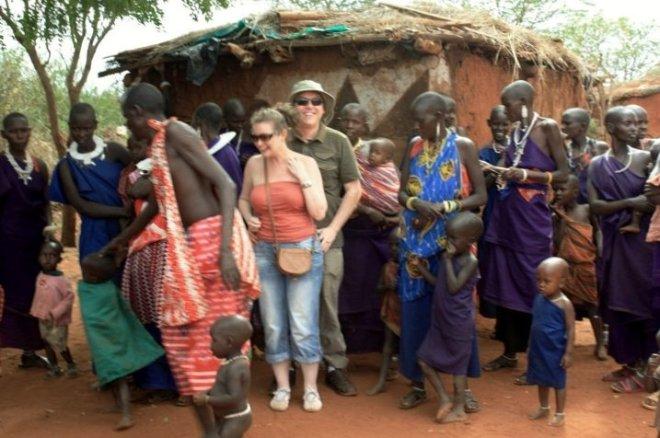 masaai village, kenya