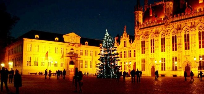 Christmas in Bruges, Belgium