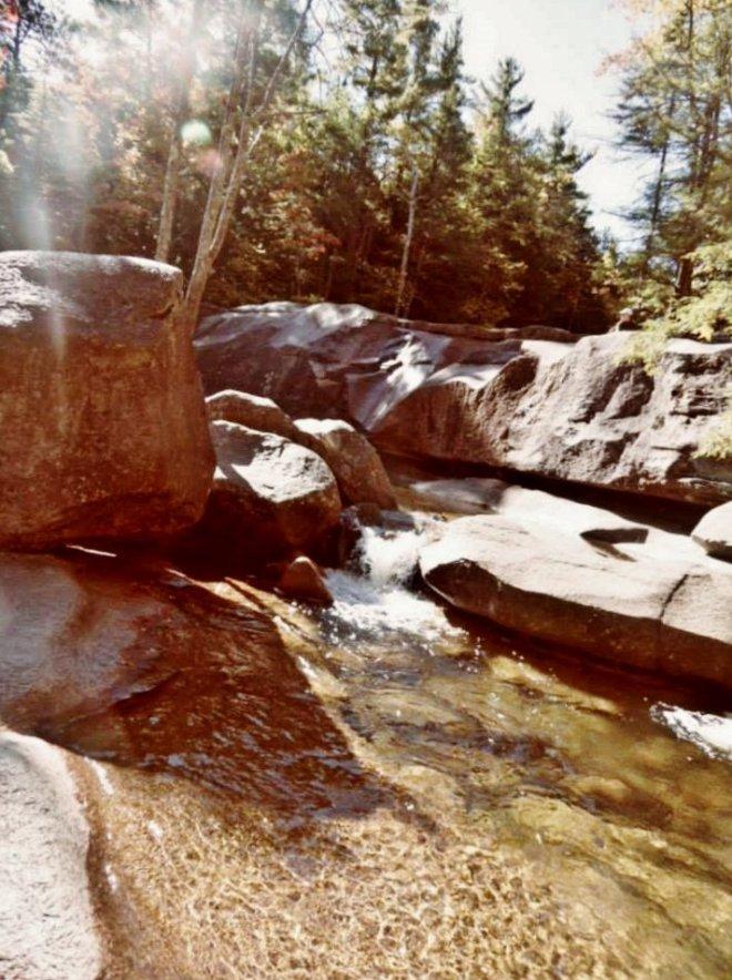 Diana's Bath - such fun scrambling over these rocks!