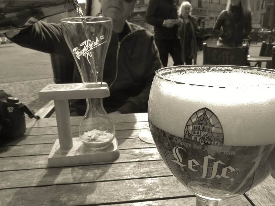 Lunch at Cafe Leffe, Brussels