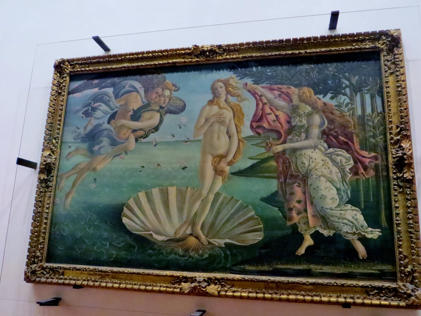 The Birth of Venus, Botticell, Uffizi Gallery, Florence
