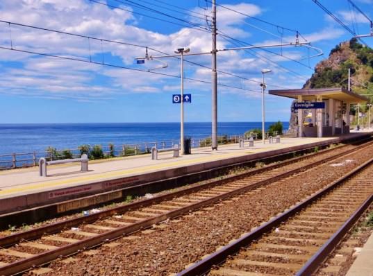 Train stations, Cinque Terre style