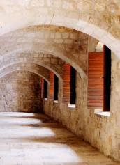 Inside Fort Lovrijenac