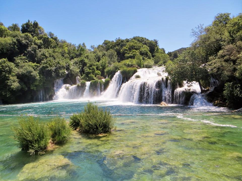 Skradinski Buk waterfall at Krka National Park, Croatia