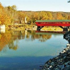 Lincoln Covered Bridge, Vermont