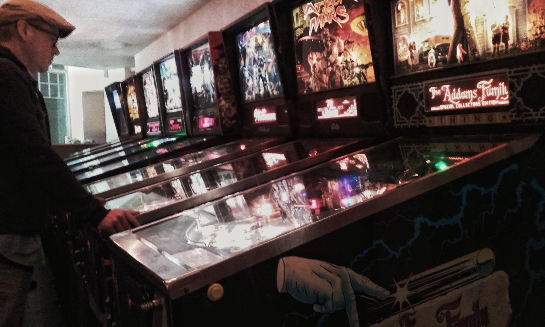 Pinball Manchines at Tilt Birmingham